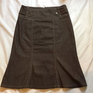 New York and company size 6 jean skirt